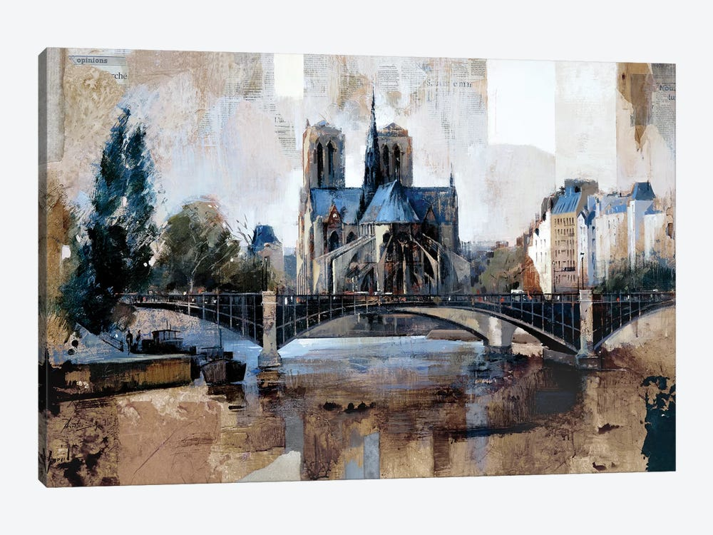 Notre Dame, Paris by Marti Bofarull 1-piece Canvas Art Print