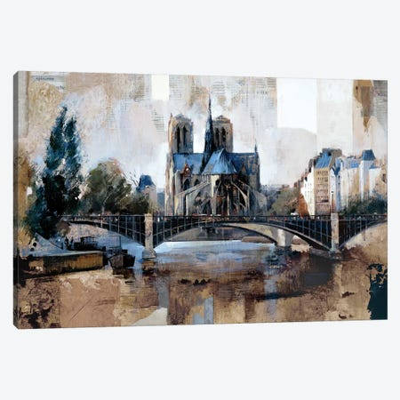 Notre Dame, Paris Canvas Print #MBO5} by Marti Bofarull Canvas Art