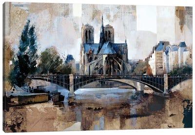 Notre Dame, Paris Canvas Art Print
