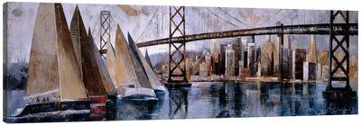 Sailing In San Francisco Canvas Art Print