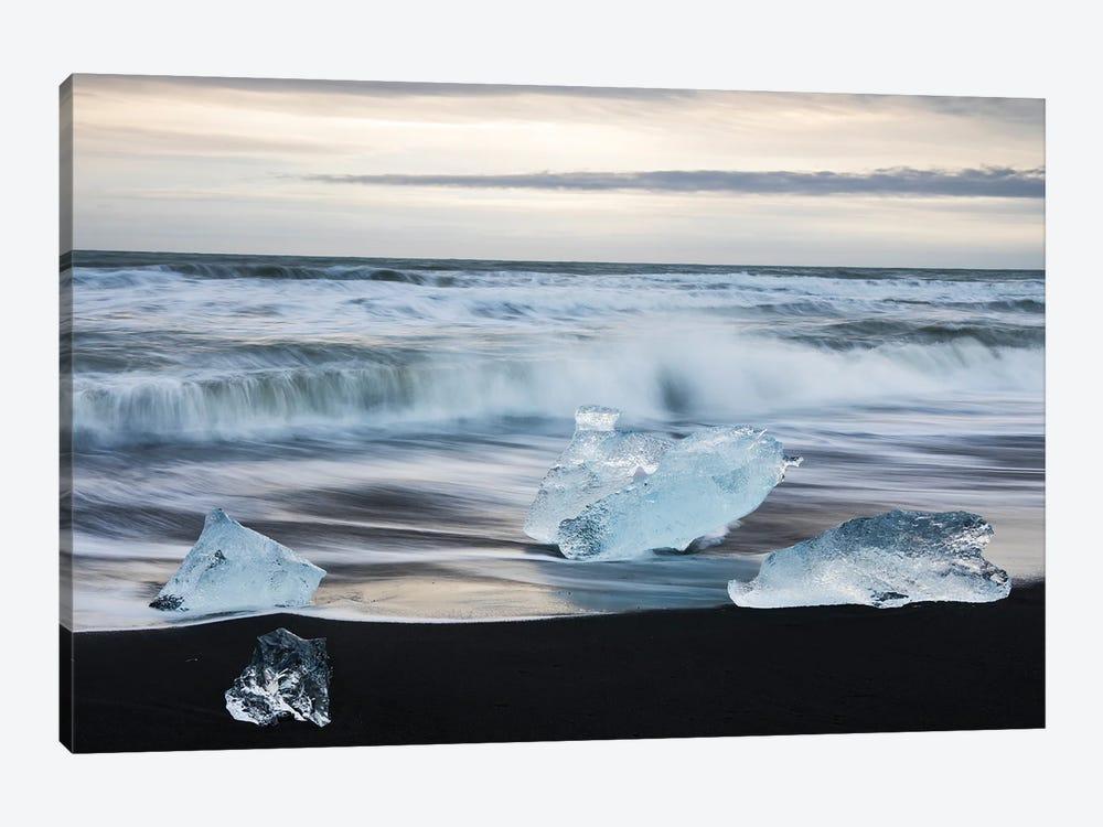 Icelandic Sea by Mauro Battistelli 1-piece Canvas Print