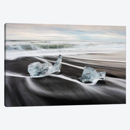 Diamond Beach Canvas Print #MBT53} by Mauro Battistelli Canvas Art
