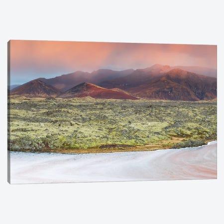 Icelandic Landscape Canvas Print #MBT60} by Mauro Battistelli Canvas Art Print