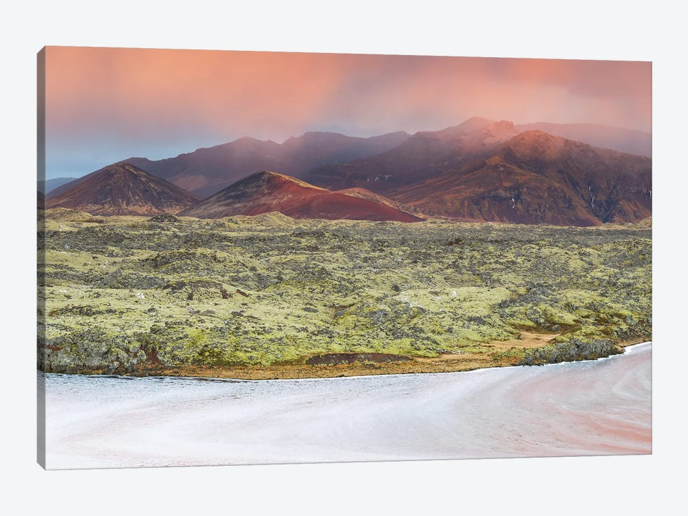 Icelandic Landscape by Mauro Battistelli 1-piece Canvas Art Print