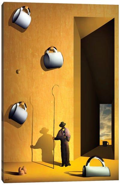 O Colecionador de Xícaras (The Collector's Cups) Canvas Print #MCA18