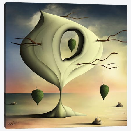 A Árvore (The Tree) Canvas Print #MCA1} by Marcel Caram Canvas Artwork