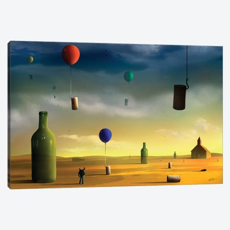 Rolhas (Corks) Canvas Print #MCA26} by Marcel Caram Canvas Artwork