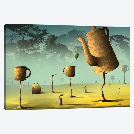 Campo de Café (Field Of Coffee) Canvas Print #MCA30} by Marcel Caram Canvas Wall Art