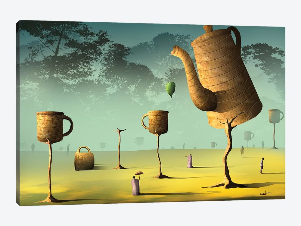 Campo de Café (Field Of Coffee) by Marcel Caram 1-piece Canvas Art Print