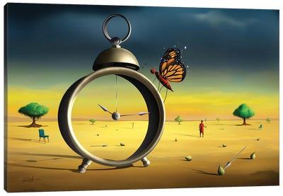 Cena Com Despertador (Scene With Alarm Clock) Canvas Art Print