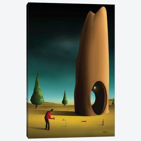 Cena Com Pinheiros (Scene With Pine trees) Canvas Print #MCA33} by Marcel Caram Canvas Artwork