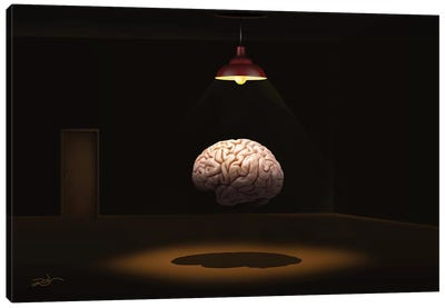 Cerebro (Brain) Canvas Art Print