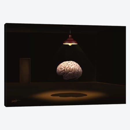 Cerebro (Brain) Canvas Print #MCA34} by Marcel Caram Canvas Print