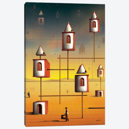 Comunidades (Communities) Canvas Print #MCA36} by Marcel Caram Canvas Print