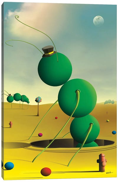 Insetos (Insects) Canvas Art Print