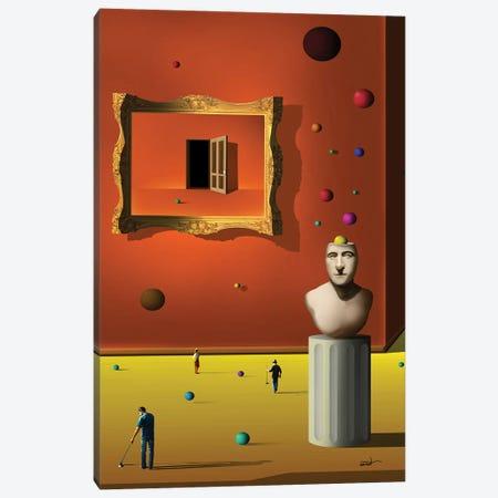 O Quadro Curvo (Table Curved) Canvas Print #MCA39} by Marcel Caram Canvas Wall Art