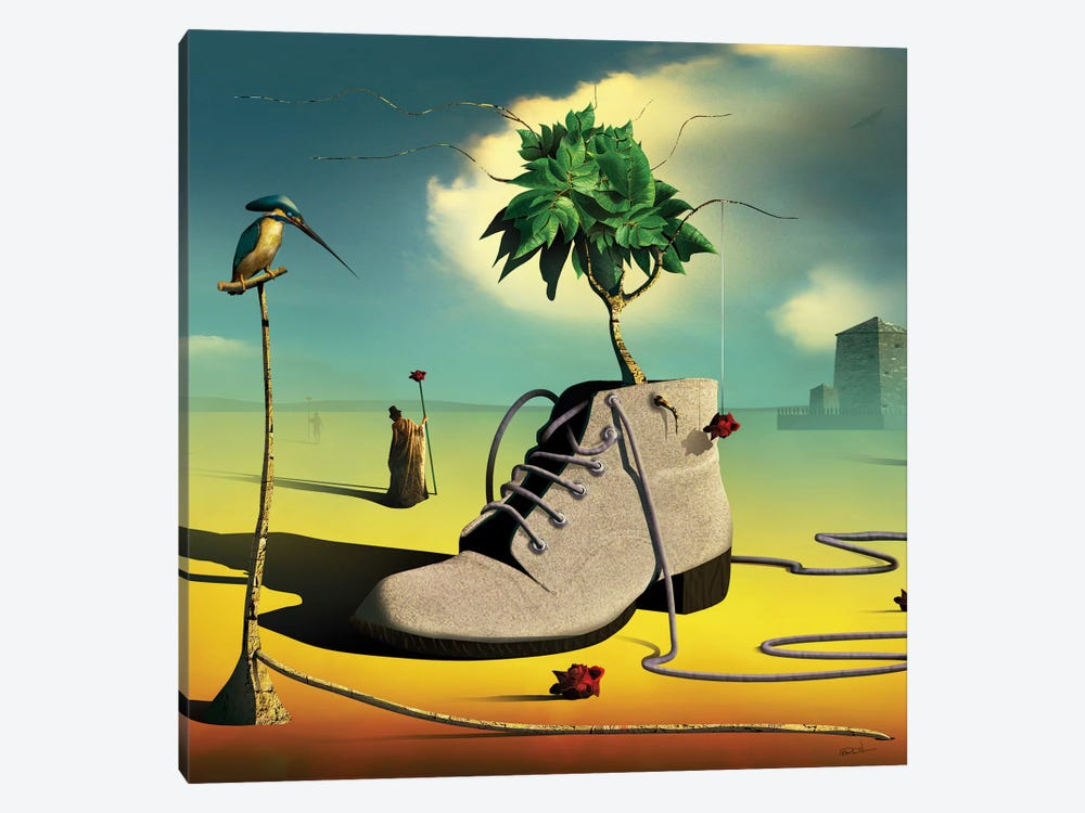 A Bota (The Boot) by Marcel Caram 1-piece Canvas Art