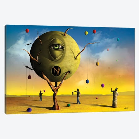 Olho (Eye) Canvas Print #MCA40} by Marcel Caram Canvas Art Print
