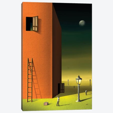 Portas (Doors) Canvas Print #MCA43} by Marcel Caram Canvas Art Print