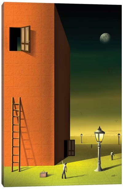 Portas (Doors) Canvas Art Print