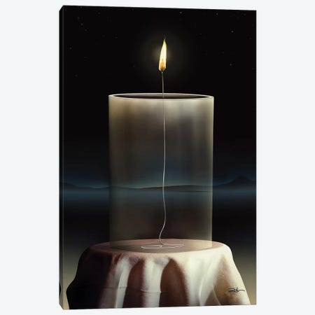 Vela Vidro (Candle Glass) Canvas Print #MCA46} by Marcel Caram Canvas Artwork