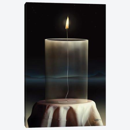 Vela Vidro (Candle Glass) Canvas Print #MCA46} by Marcel Caram Canvas Artwork