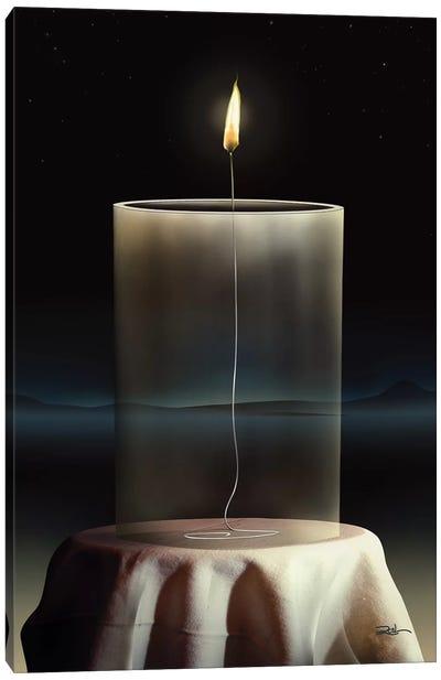 Vela Vidro (Candle Glass) Canvas Art Print