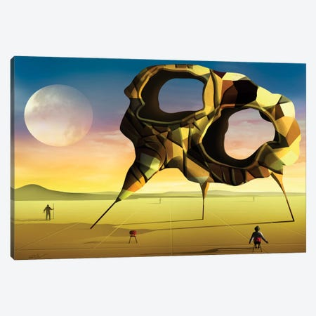 A Grande Forma (The Great Shape) Canvas Print #MCA5} by Marcel Caram Canvas Art Print