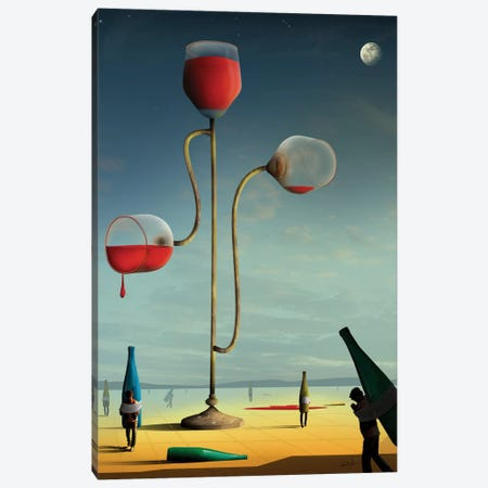 As Três Taças (The Three Cups) Canvas Print #MCA6} by Marcel Caram Art Print