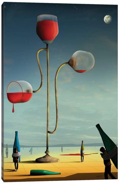 As Três Taças (The Three Cups) Canvas Print #MCA6
