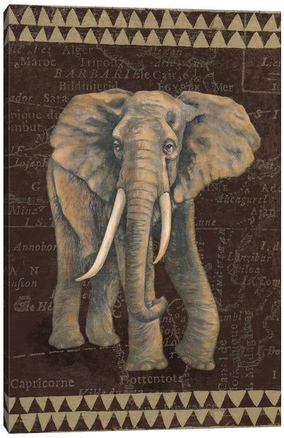 Grand Elephant Traveller Canvas Art Print