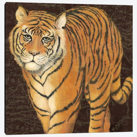 Grand Tiger Traveller Canvas Print #MCB4} by Naomi McBride Canvas Artwork
