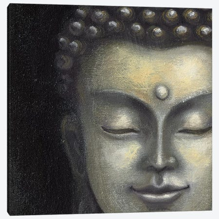 Serene Buddha I Canvas Print #MCB5} by Naomi McBride Canvas Artwork