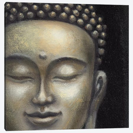 Serene Buddha II Canvas Print #MCB6} by Naomi McBride Canvas Artwork
