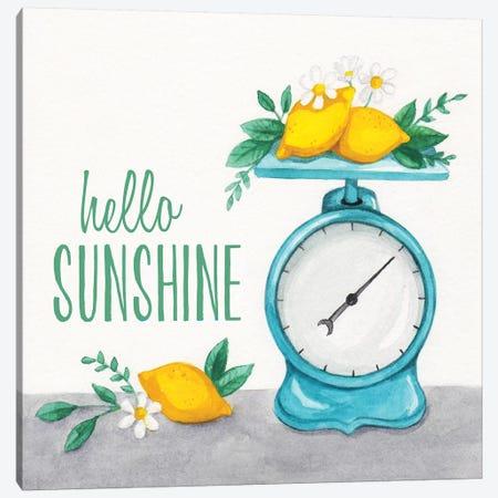 Lemon Scale I Canvas Print #MCC3} by Gabrielle McClure Canvas Wall Art
