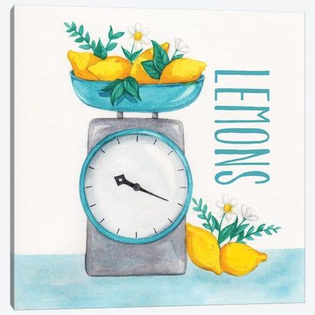 Lemon Scale II Canvas Print #MCC4} by Gabrielle McClure Art Print