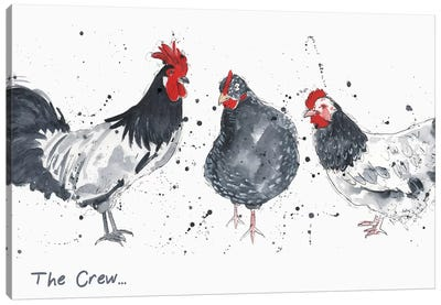The Crew Canvas Art Print
