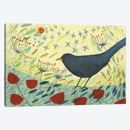 Blackbird & Crow Canvas Print #MCE17} by Michelle Campbell Canvas Print