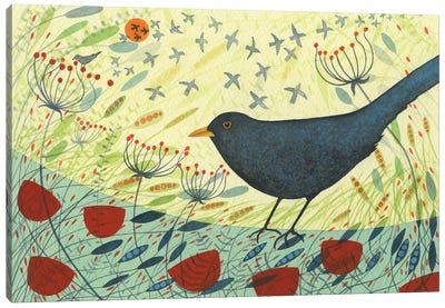 Blackbird & Crow Canvas Art Print
