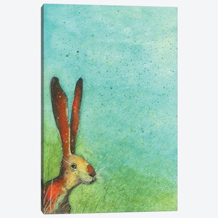 Hunny Bunny Canvas Print #MCE28} by Michelle Campbell Art Print