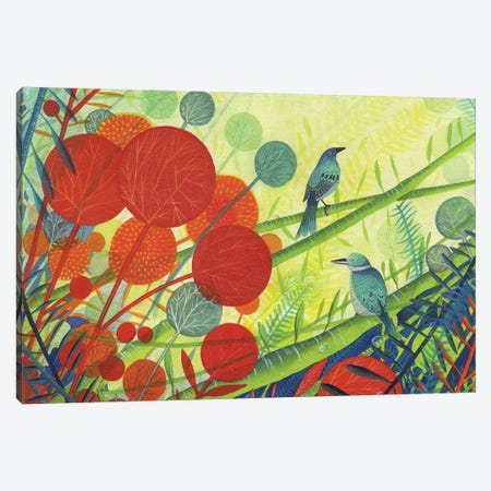Paradise Canvas Print #MCE31} by Michelle Campbell Canvas Art