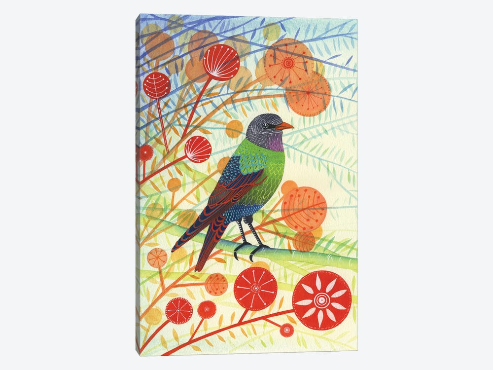 Starling I by Michelle Campbell 1-piece Canvas Artwork