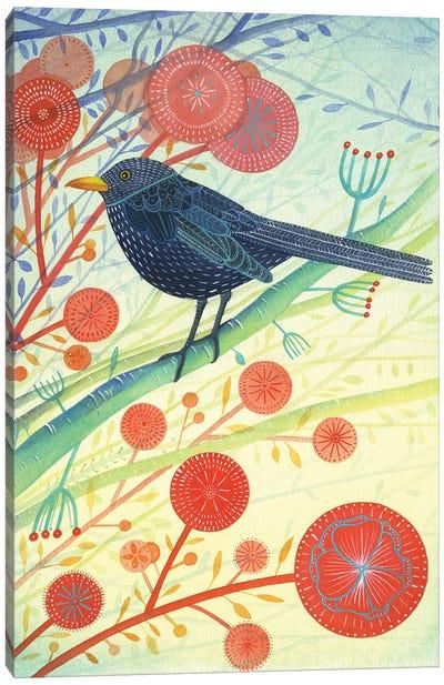 The Blackbird Canvas Art Print