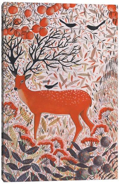 The Fall Of Autumn Canvas Art Print