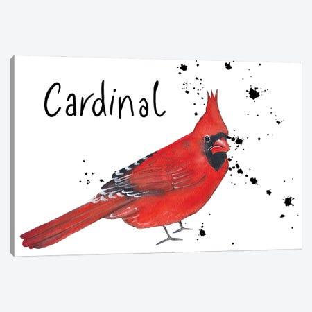 Cardinal Canvas Print #MCE49} by Michelle Campbell Canvas Art Print