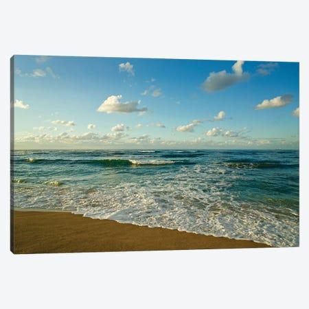 Israel, Haifa. Beaches And Mediterranean Sea Canvas Print #MCH10} by Michele Molinari Canvas Print