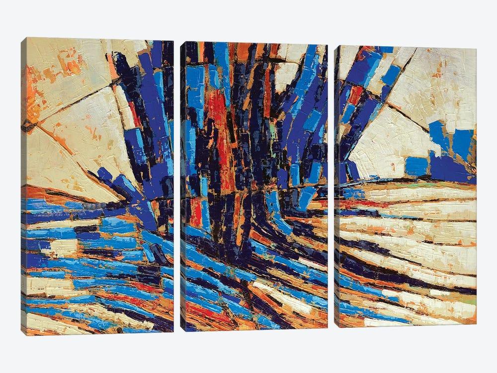 Sequoia by Macchiaroli 3-piece Canvas Art Print