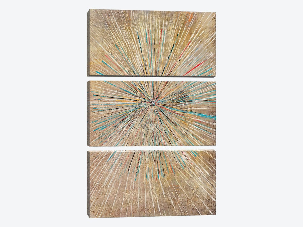 Supernova by Macchiaroli 3-piece Canvas Wall Art