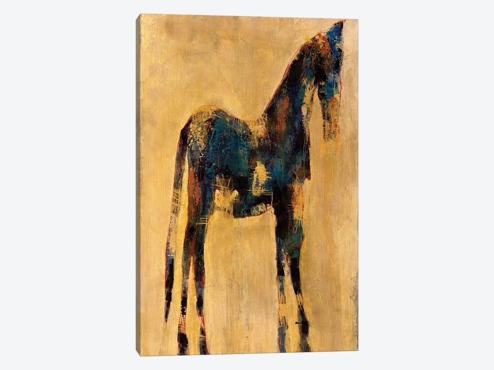 Indigo by Macchiaroli 1-piece Canvas Art Print