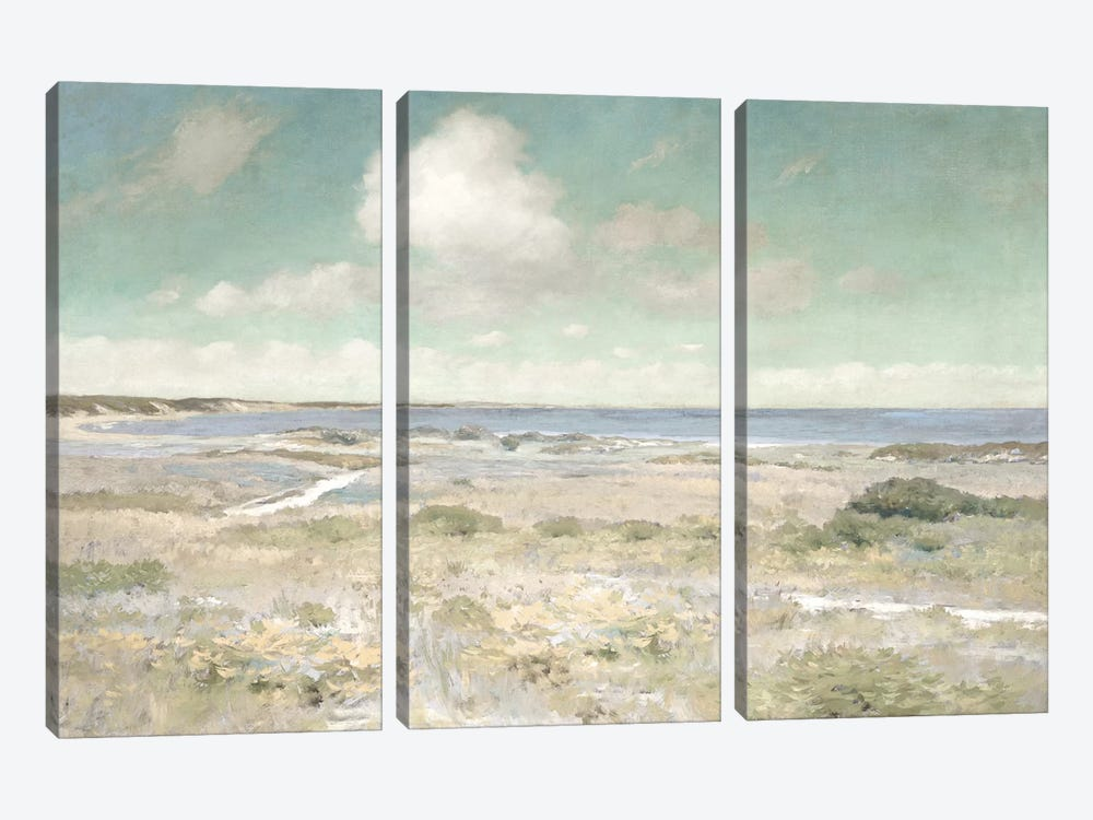Water View by Christy McKee 3-piece Canvas Art Print
